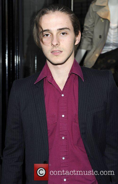 Alex Watson Burberry party held at the Burberry...