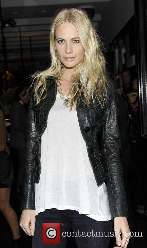 Poppy Delevingne Burberry party held at the Burberry...
