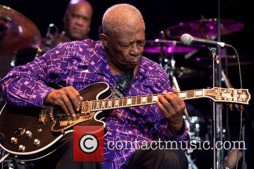 BB King performing at the Byron Bay Bluesfest...