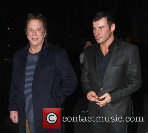 Mickey Rourke and Joe Calzaghe 4