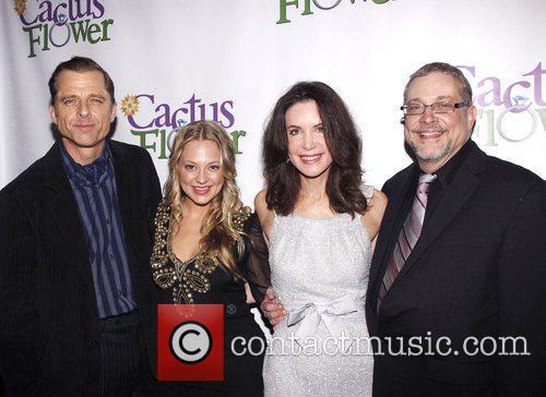 Maxwell Caulfield, Jenni Barber, Lois Robbins and Michael...