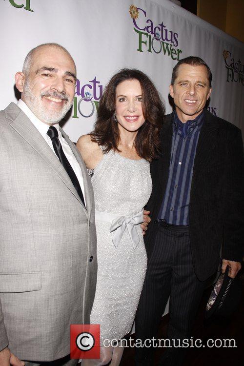 John Herrera, Lois Robbins and Maxwell Caulfield Opening...