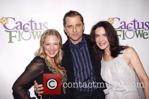 Jenni Barber, Maxwell Caulfield and Lois Robbins Opening...