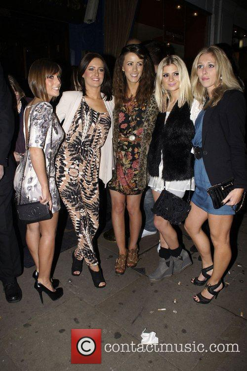 Nicola T aka Nicola Tappenden Celebrities attend a...