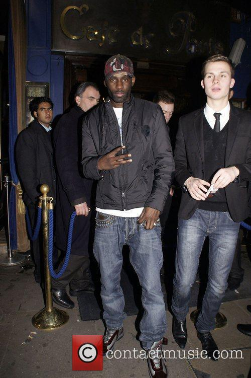 Wretch 32  Celebrities attend a party organized...