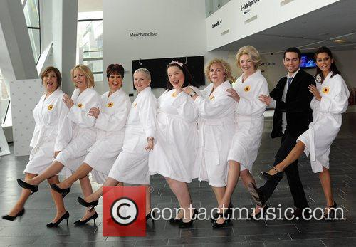 Calendar Girls, Bruno Langley, Danielle Lineker, Jennifer Ellison, Lynda Bellingham and Ruth Madoc 5
