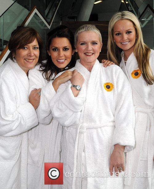 Lynda Bellingham, Bruno Langley, Calendar Girls, Danielle Lineker, Jennifer Ellison and Ruth Madoc 1
