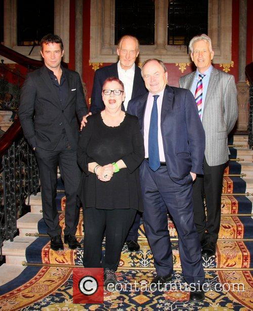 James Purefoy, Charles Dance and Jo Brand 2