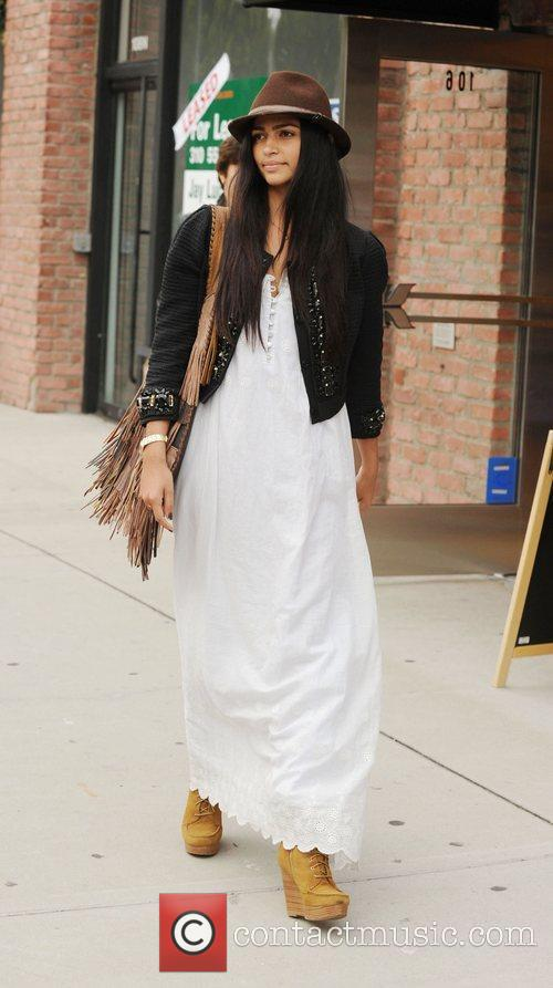 Camila Alves heads out shopping after having lunch...