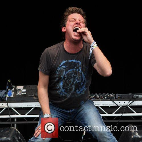 Richard McCourt of Dick and Dom Camp Bestival...