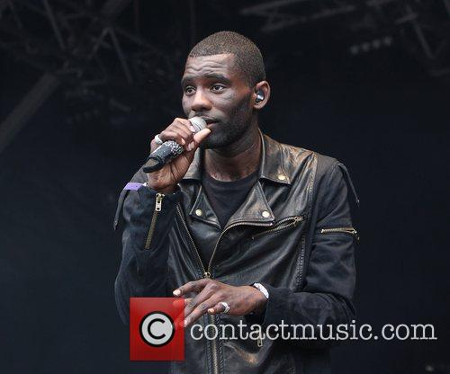 Wretch 32 performing on the main stage at...