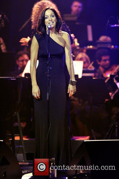 Performs at The Massey Hall during Canada's Walk...