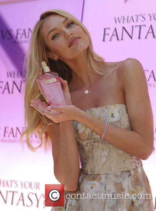 Candice Swanepoel   unveils the new Victoria's...