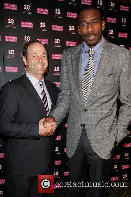 Neil Cole and Amar'e Stoudemire Candie's Foundation 2011...