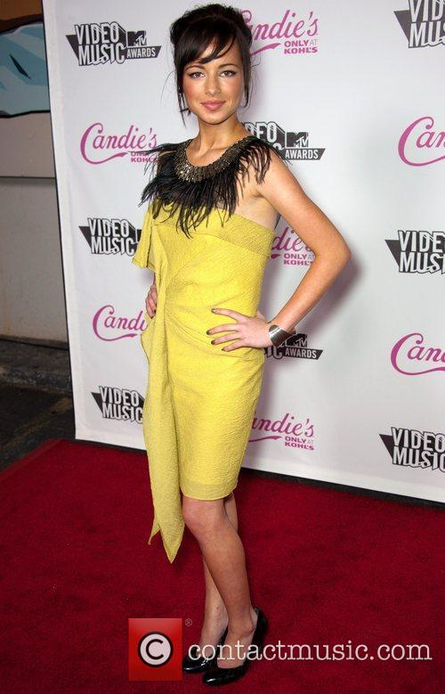 Ashley Rickards  Candie's host The 2011 MTV...