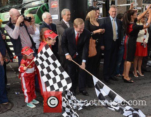 Taoiseach Enda Kenny launches Cannonball 2011 at Merrion...
