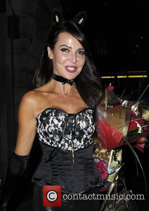Liz Cundy at Caprice's 40th Birthday party. London,...