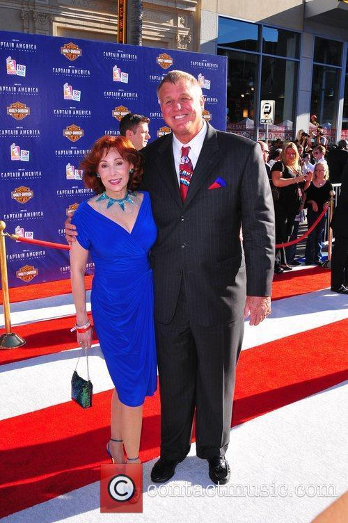 Reb Brown 'the Original' Captain America and wife...