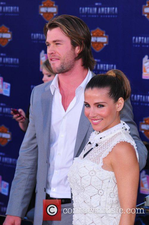 Chris Hemsworth, Elsa Pataky Los Angeles Premiere of...