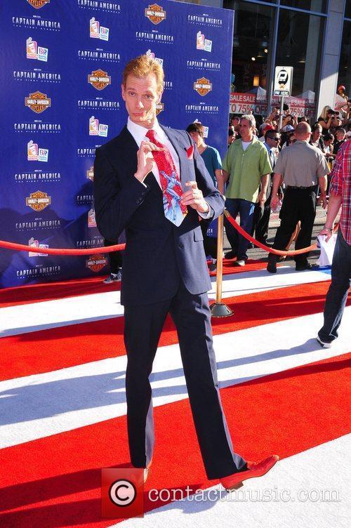 Doug Jones Los Angeles Premiere of Captain America:The...