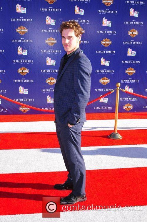 Grey Damon Los Angeles Premiere of Captain America:The...