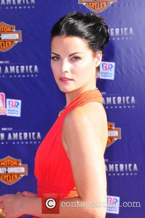 Jaimie Alexander Los Angeles Premiere of Captain America:The...