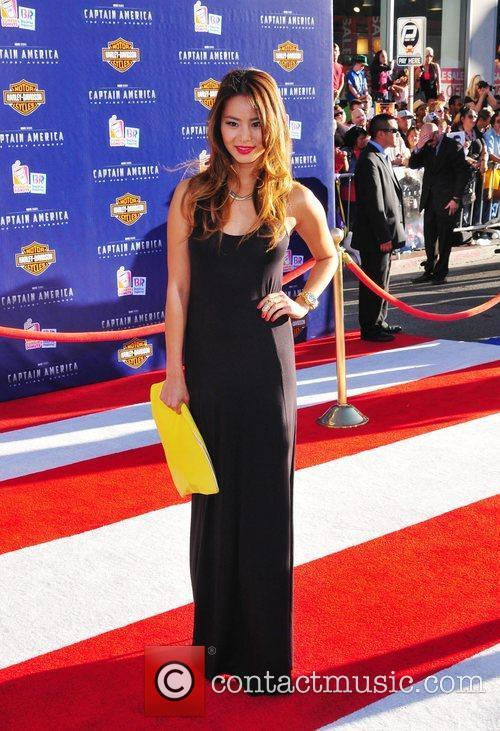 Jamie Chung Los Angeles Premiere of Captain America:The...