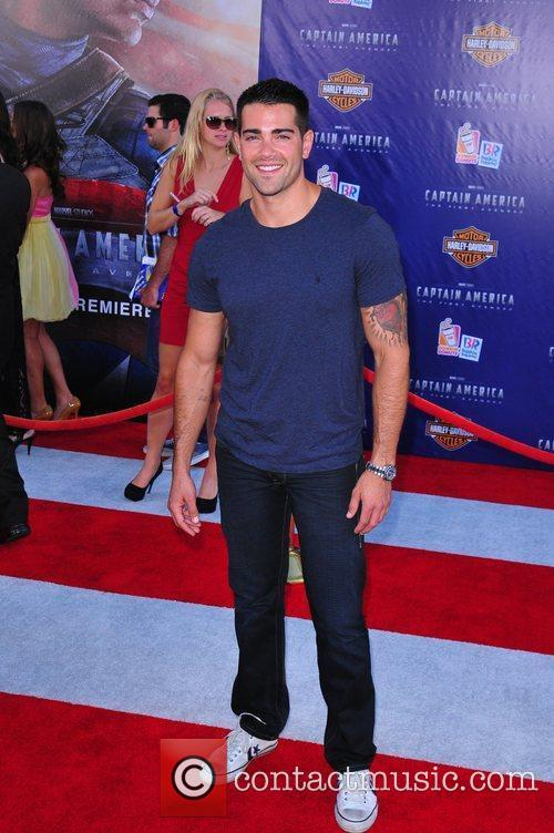 Jesse Metcalfe Los Angeles Premiere of Captain America:The...