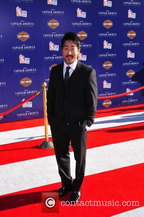 Kenneth Choi Los Angeles Premiere of Captain America:The...