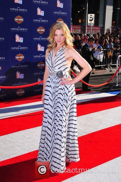 Natalie Dormer Los Angeles Premiere of Captain America:The...