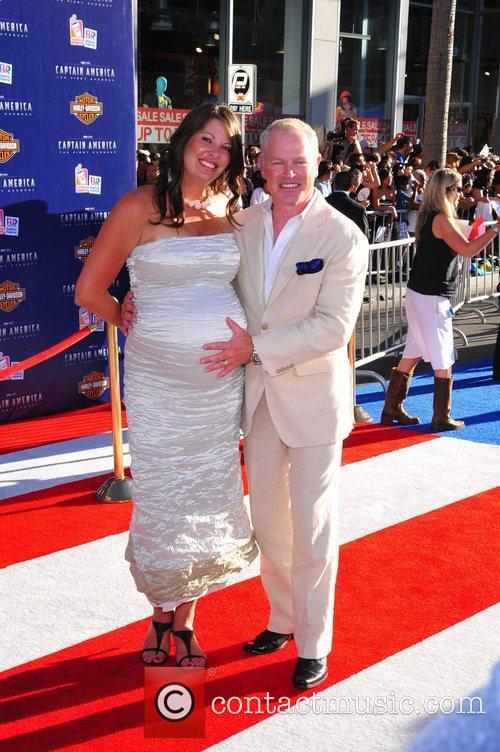 Neal McDonough, Ruve McDonough Los Angeles Premiere of...