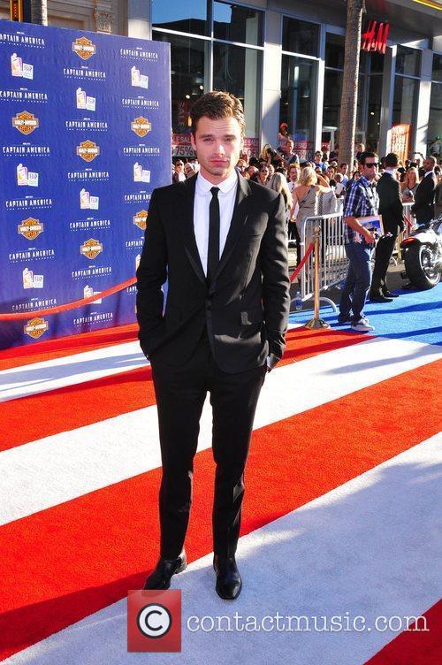 Sebastian Stan Los Angeles Premiere of Captain America:The...