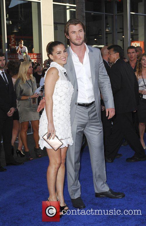 Elsa Pataky, Chris Hemsworth  Los Angeles Premiere...