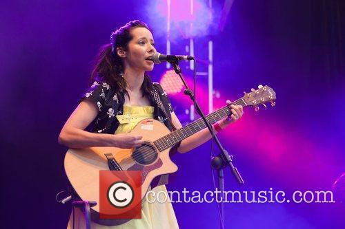 Nerina Pallot performing at The Big Weekend in...