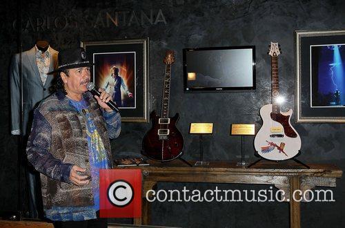 Carlos Santana and Paul Davis 6
