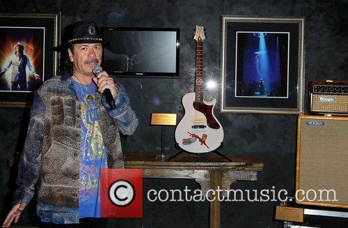 Carlos Santana and Paul Davis 10