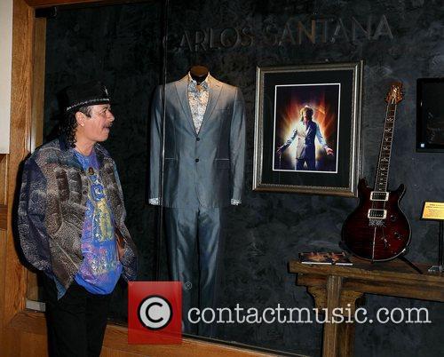 Carlos Santana and Paul Davis 11