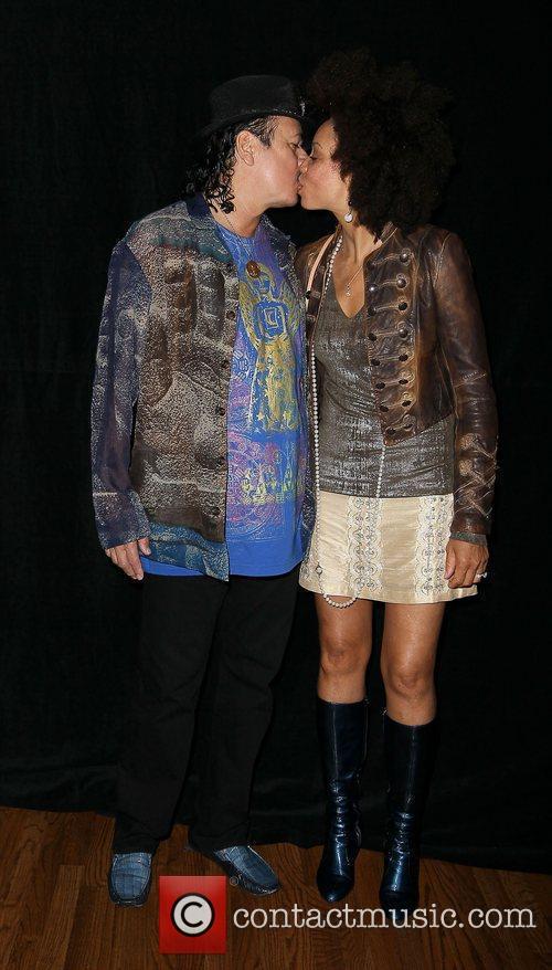 Carlos Santana and Paul Davis 7