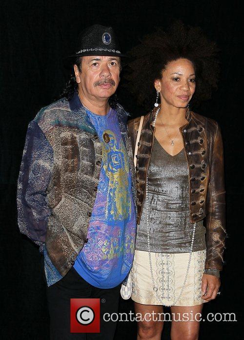Carlos Santana and Paul Davis 9