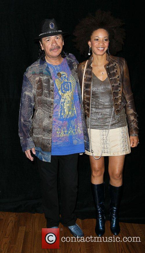 Carlos Santana and Paul Davis 4