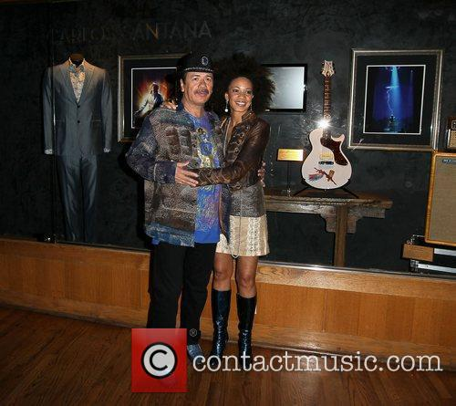 Carlos Santana and Cindy Blackman Hard Rock Hotel...