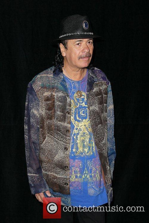 Carlos Santana and Paul Davis 8