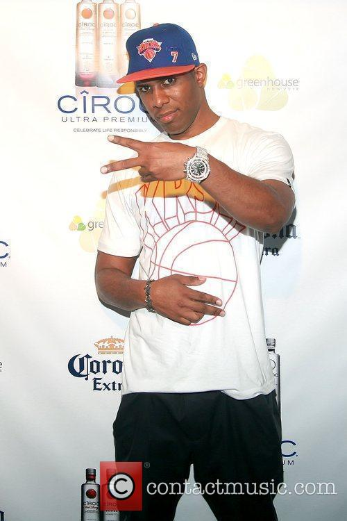 DJ Whoo Kid  attends New York Knicks'...