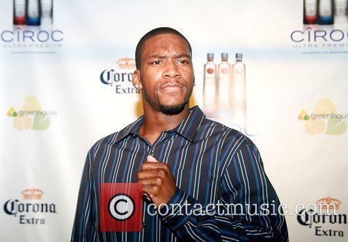 Toney Douglas attends New York Knicks' Carmelo Anthony's...