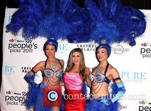 Carmen Electra and Caesars Palace 10