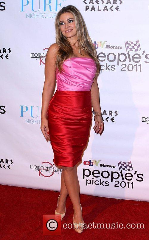 Carmen Electra and Caesars Palace 11