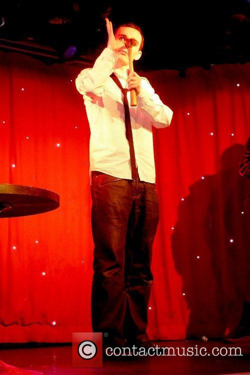 Performing in the 'Carney Cabaret' at Madame JoJos