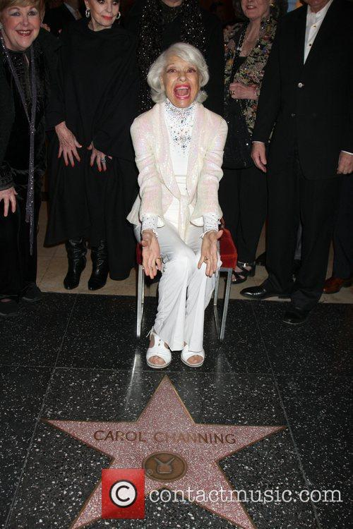 Carol Channing, Celebration and Walk Of Fame 6