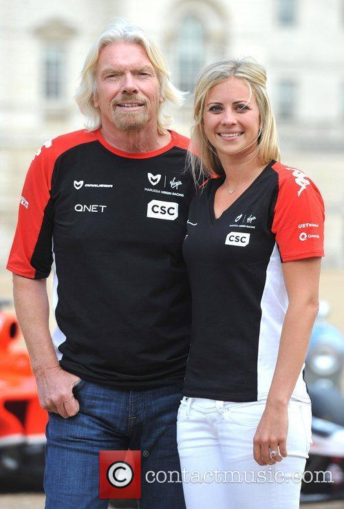 Richard Branson and Holly Branson 7