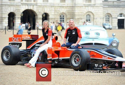 Richard Branson and Holly Branson 8